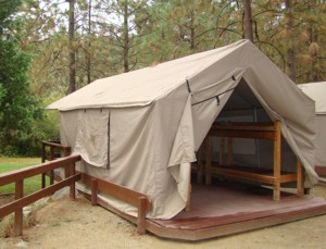 Example of a Cabin Tent