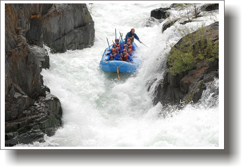 Middle Fork American Super 1 Day Trip Overview - EarthTrek Expeditions