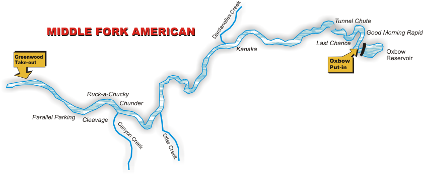 Middle Fork American River - Class IV - EarthTrek Expeditions